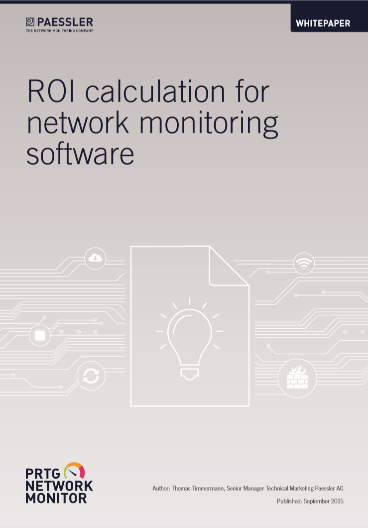 ROI calculation for network monitoring software