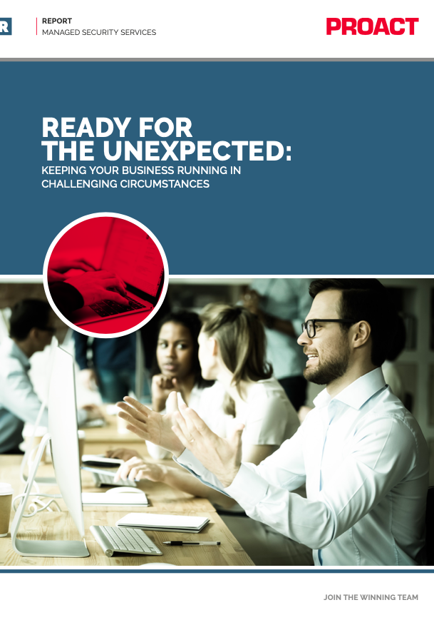 READY FOR THE UNEXPECTED: KEEPING YOUR BUSINESS RUNNING IN CHALLENGING CIRCUMSTANCES