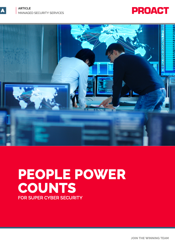 PEOPLE POWER COUNTS FOR SUPER CYBER SECURITY