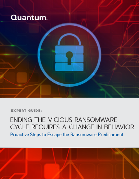 Ending the Vicious Ransomware Cycle Requires a Change in Behavior