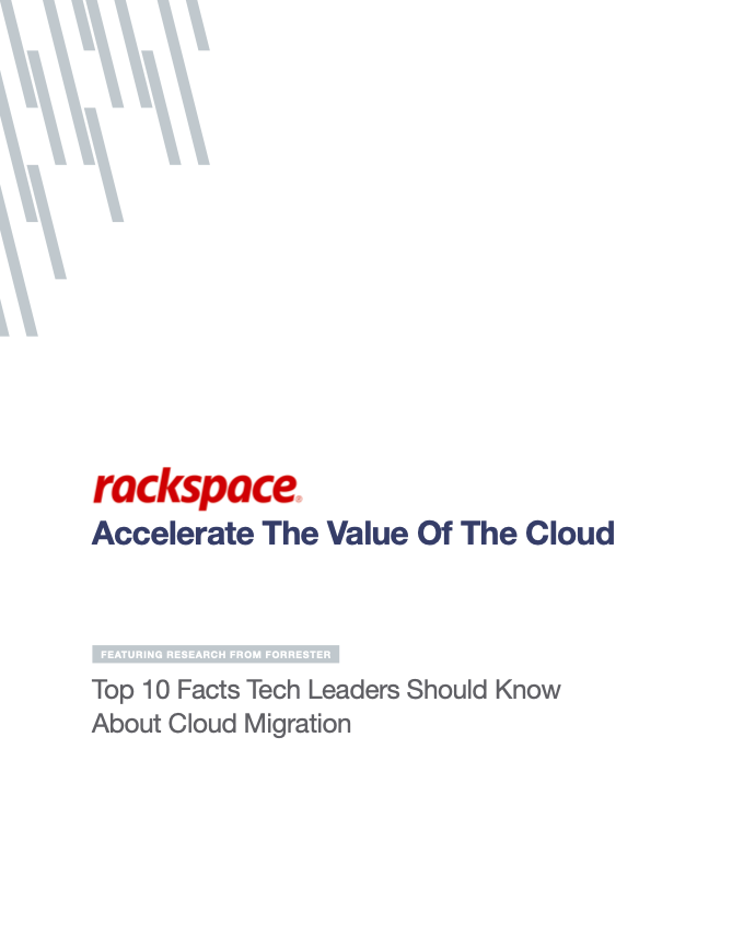 Accelerate The Value Of The Cloud - Top 10 Facts Tech Leaders Should Know About Cloud Migration