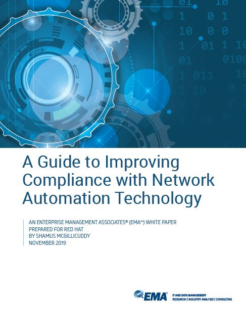 Improving compliance with network automation technology