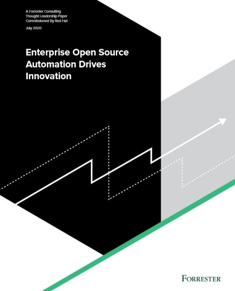Enterprise open source automation drives innovation