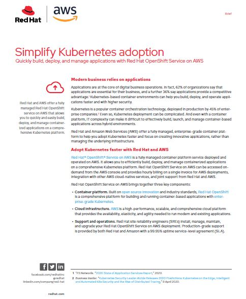 Simplify Kubernetes adoption