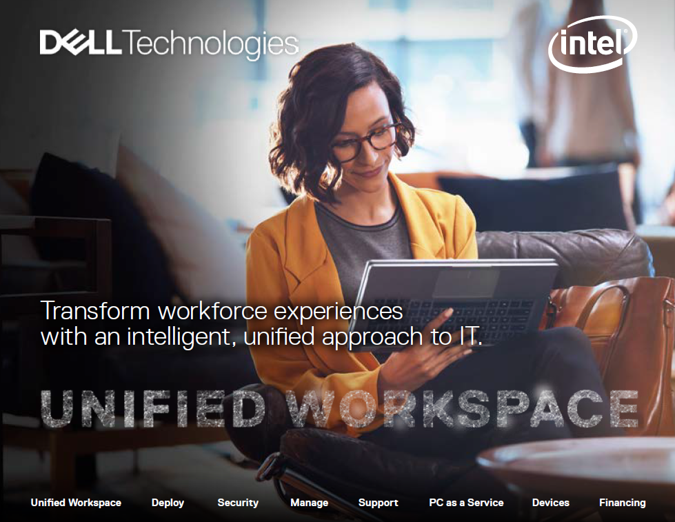 Transform workforce experiences with an intelligent, unified approach to IT.<br>UNIFIED WORKSPACE