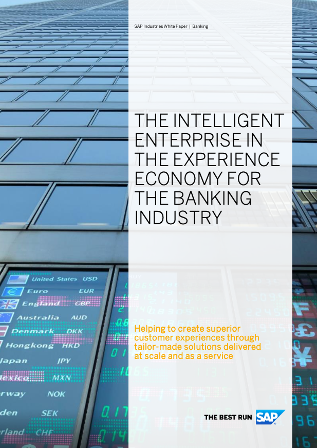 The intelligent enterprise in the experience economy for the banking industry