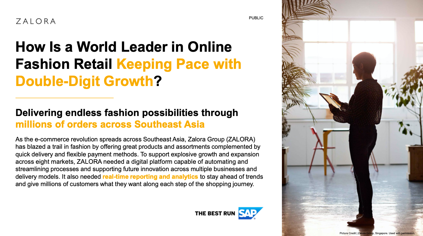 How Is a World Leader in Online Fashion Retail Keeping Pace with Double-Digit Growth?