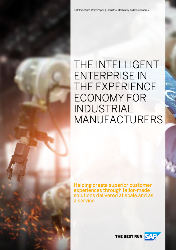 The intelligent enterprise in the experience economy for industrial manufacturers