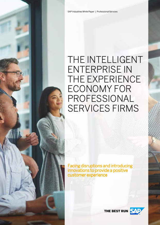 The intelligent enterprise in the experience economy for professional services firms