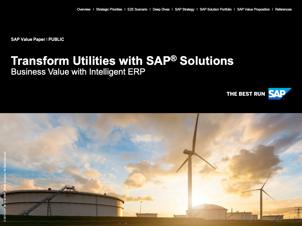 Transform Utilities with SAP® Solutions