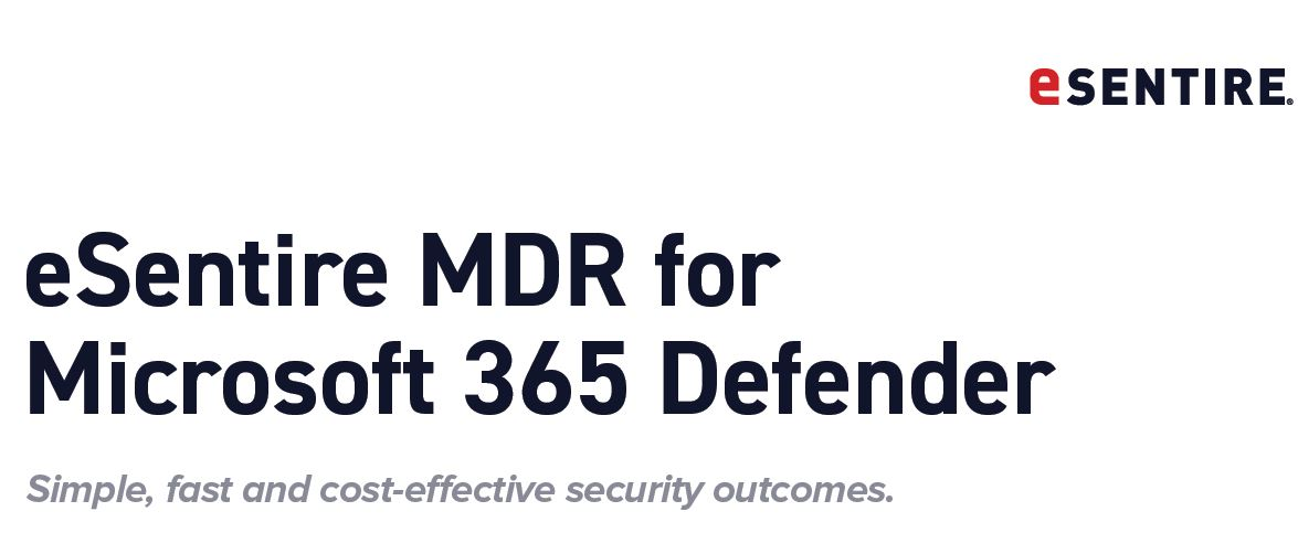 eSentire MDR for Microsoft 365 Defender