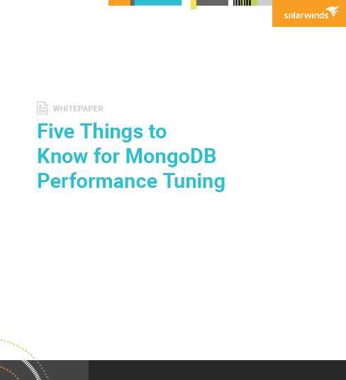 Five Things to Know for MongoDB Performance Tuning
