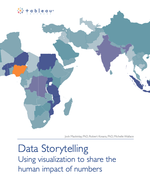 Data Storytelling Using visualization to share the human impact of numbers