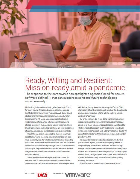 Ready, Willing and Resilient: Mission-ready amid a pandemic