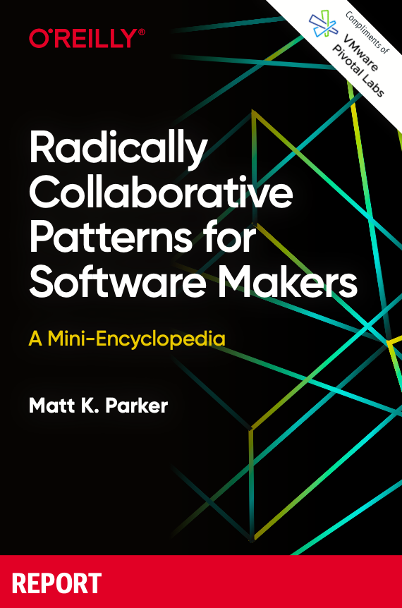 Radically Collaborative Patterns for Software Makers