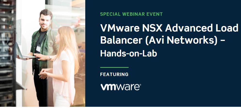 VMware NSX Advanced Load Balancer (Avi Networks) - Hands-on-Lab