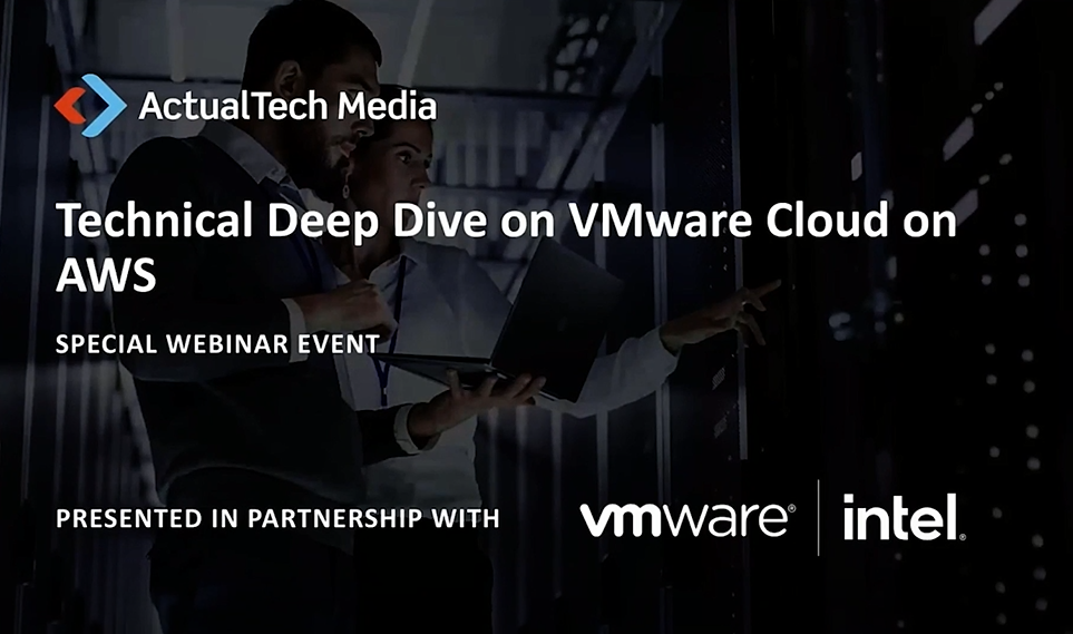 Technical Deep Dive on VMware Cloud on AWS