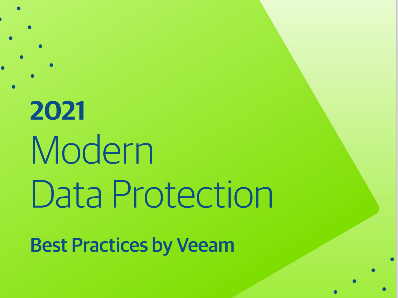 2021 Modern Data Protection Best Practices by Veeam