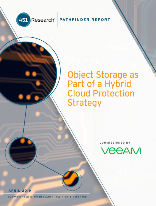 Object Storage as Part of a Hybrid Cloud Protection Strategy
