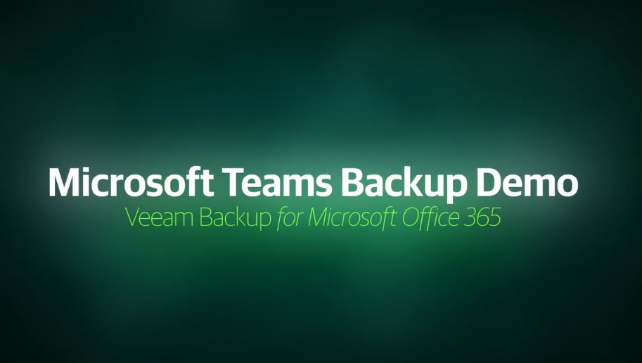 5-minute demo on Veeam® Backup for Microsoft Office 365