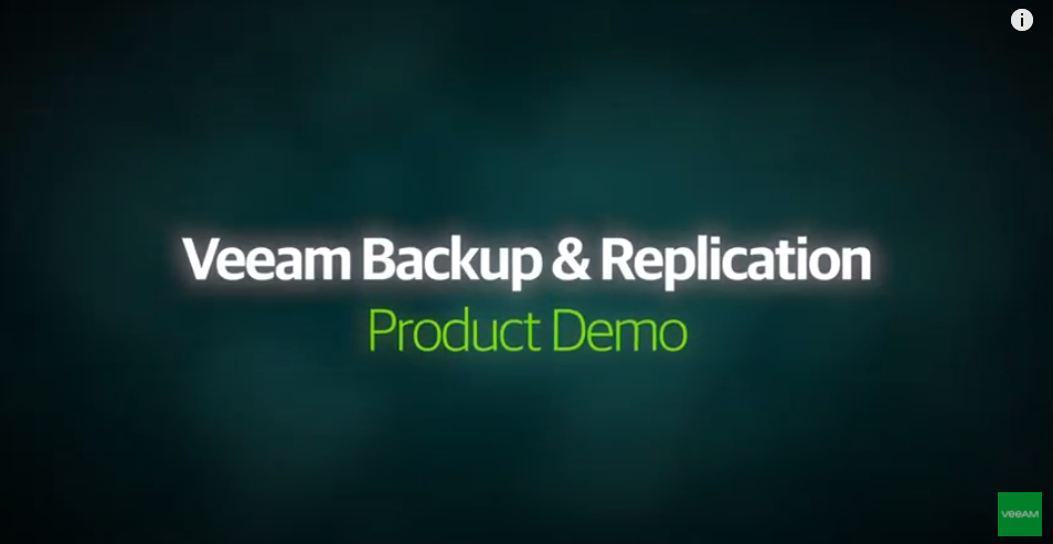 DEMO VIDEO: VM Backup and Recovery