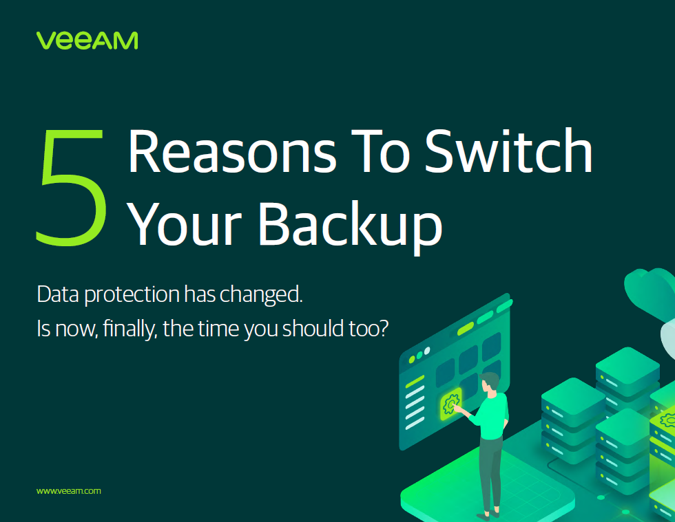 5 Reasons to Switch Your Backup