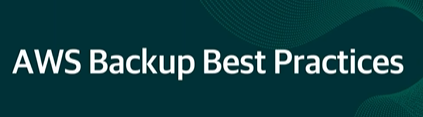 Recorded Demo: AWS Data Backup Best Practices