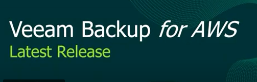 What's new in the latest Veeam Backup for AWS