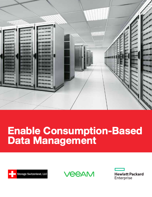 Enable Consumption-based Data Management with HPE and Veeam