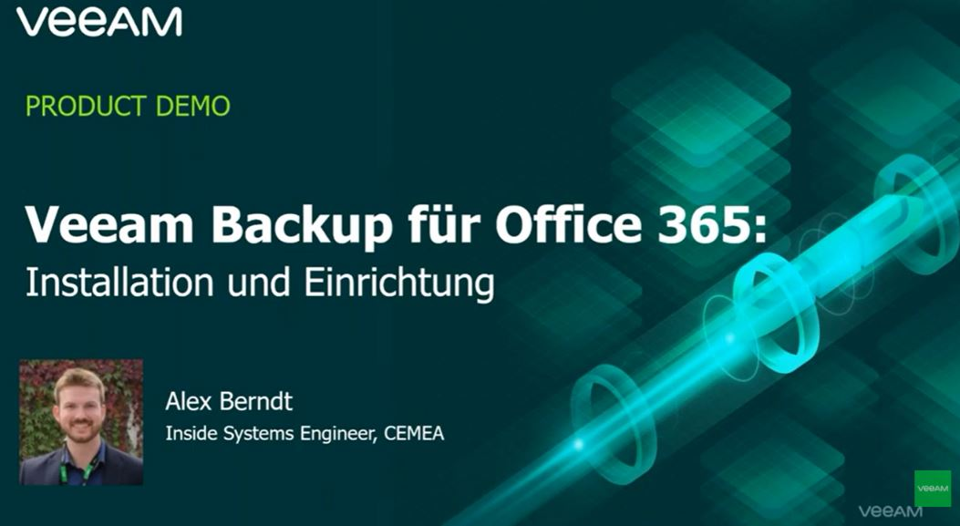 5-minütige Cloud-Demos: Modernes Backup