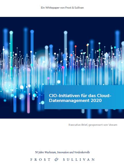 CIO‑Initiativen für das Cloud-Datenmanagement 2020