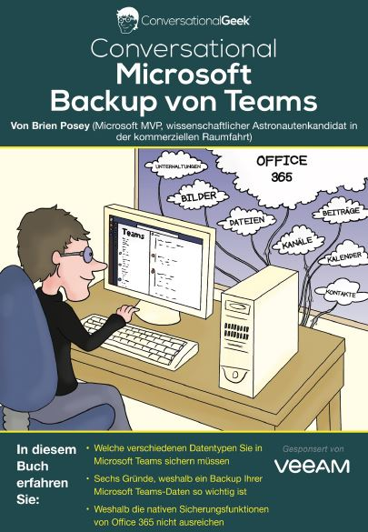Conversational Microsoft Backup von Teams