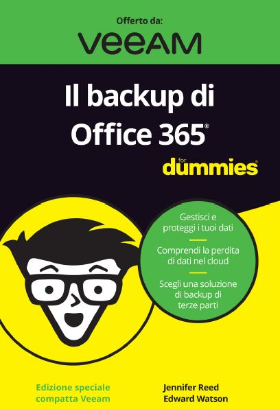 Il backup di Office 365 For Dummies