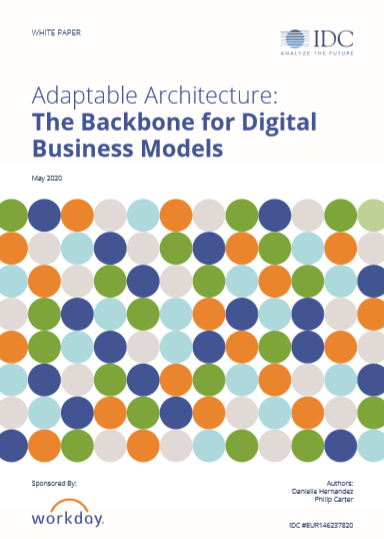 Adaptable Architecture: The backbone for digital business models