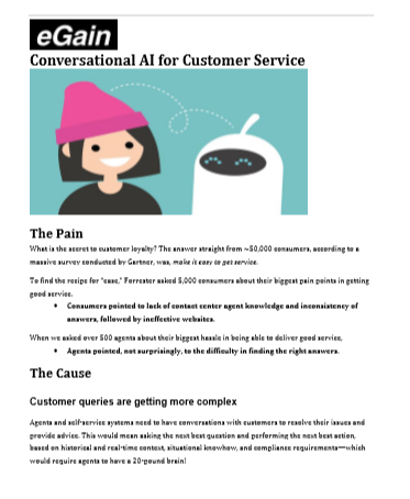 The Transformational Value of Conversational AI for Customer Service