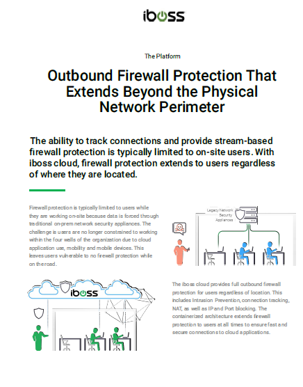 Outbound Firewall Protection That Extends Beyond the Physical Network Perimeter