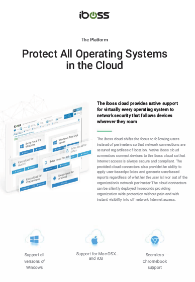 Protect All Operating Systems in the Cloud