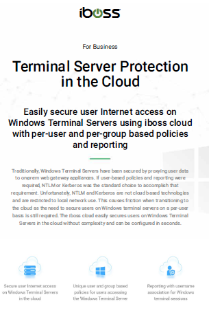 Terminal Server Protection in the Cloud