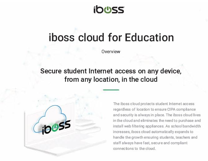 iboss cloud for Education