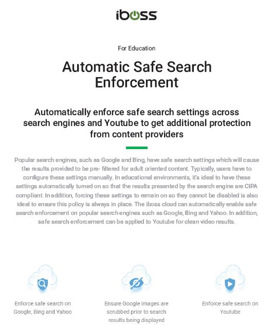 Automatic Safe Search Enforcement