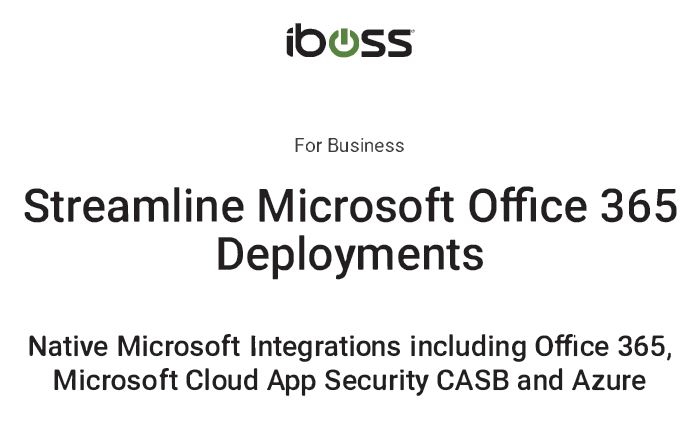 Streamline Microsoft Office 365 Deployments