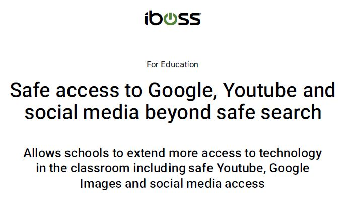 Safe access to Google, Youtube and social media beyond safe search