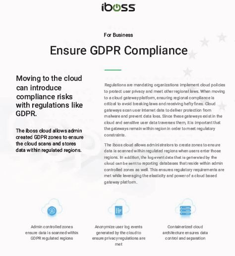 Ensure GDPR Compliance